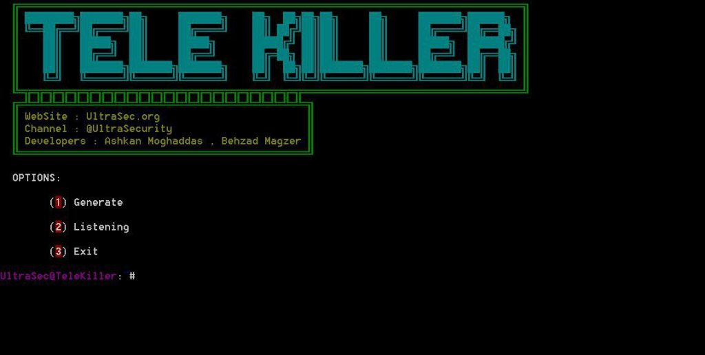 TeleKiller - A Tools Session Hijacking And Stealer Local Passcode Telegram Windows